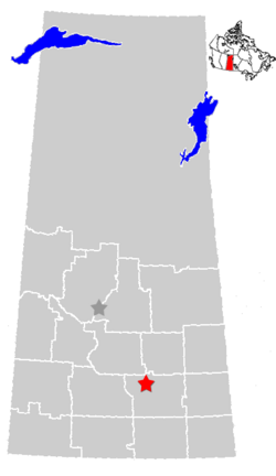 Regina, Saskatchewan Location.png