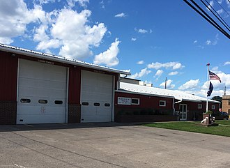 Berwick, Pennsylvania - Image: Reliance Fire Company in Berwick