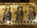 Reliquary Chasse, Limoges, c. 1175-1180, champleve enamel on gilded copper with oak core, view 2 - National Gallery of Art, Washington - DSC09885.JPG