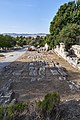 Remains of the Panathenaic Way (?) in the Ancient Agora of Athens on September 27, 2020.jpg