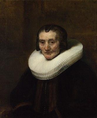 Harriet Jones-Loyd, Lady Wantage - Image: Rembrandt Margaretha de Geer, wife of Jacob Trip National Gallery