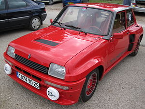 Renault 5 Turbo - Image: Renault 5 Turbo 2 002