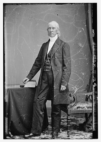 Collodion - Rev. David Leavitt, ca. 1855, wet collodion negative, Library of Congress