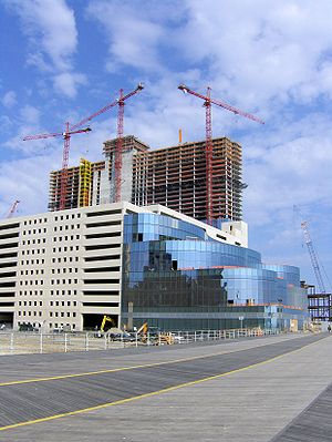 Construction of Revel Entertainment's Casino i...