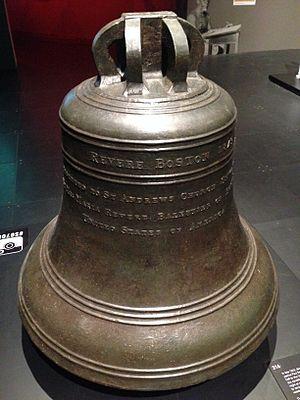Revere Bell - Image: Revere Bell, National Museum of Singapore 20150208 01