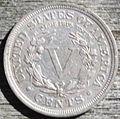 Reverse of 1910 Liberty Head nickel.jpg