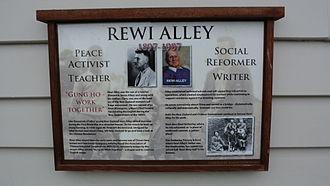 Amberley, New Zealand - Rewi Alley Memorial