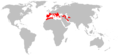 Rhinolophus euryale distribution Map.png