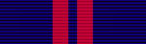 King George V Coronation Medal - Image: Ribbon King George V Coronation Medal