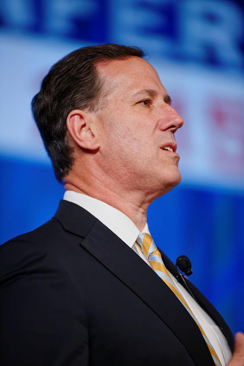 Rick Santorum at Southern Republican Leadership Conference, Oklahoma City, OK 1 May 2015 by Michael Vadon 08.jpg