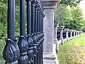 Rideau Hall wrought iron fence and posts along Princess Avenue.jpg