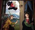 Ridolfo del ghirlandaio, annunciazione, 1515 ca, da pieve di s. pietro a pitiana (reggello) 02.JPG