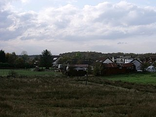 Riggend village in United Kingdom