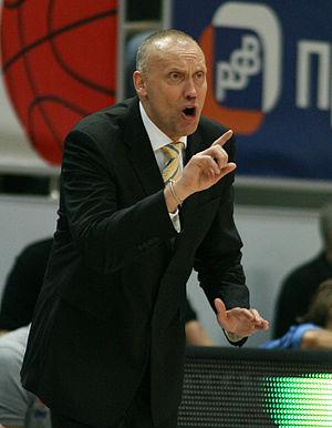 Rimas Kurtinaitis - Kurtinaitis as the Khimki head coach