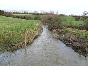 River Cole, Wiltshire - Cole near Sevenhampton
