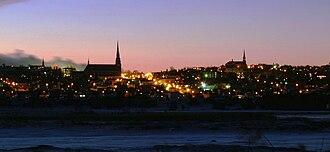 Rivière-du-Loup - Rivière-du-Loup at sunset