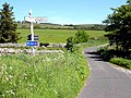 Road junction near Alnham - geograph.org.uk - 1332031.jpg