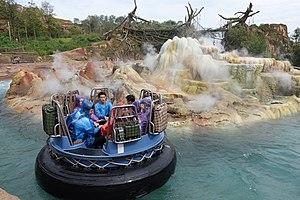 Roaring Rapids (Disney) - Image: Roaring Rapids at Shanghai Disneyland