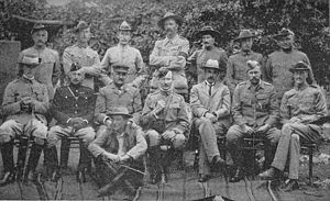 Robert Baden-Powell and staff at Mafeking.jpg