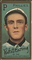 Robert Ewing, Philadelphia Phillies, baseball card portrait LCCN2008677363.jpg