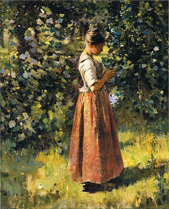 Baltimore Museum of Art - In the Grove (c. 1888) by Theodore Robinson