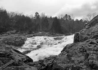 Ozark National Scenic Riverways - Rocky Falls on Rocky Creek, a tributary of the Current River