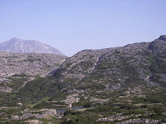 Rocky landscape from Klondike Highway near Alaska British Columbia border 5.jpg