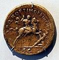 Roma, sesterzio di traiano che conquista la dacia, 104-107 dc.jpg
