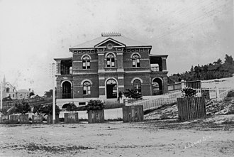 Queensland Police Service - Roma Street Police Station, 1883