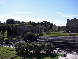 Roman Forum from the Colosseum 3.jpg