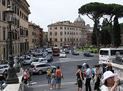A typical Rome view