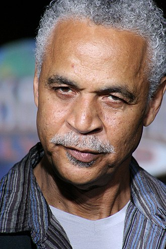Shepherd Book - Derrial Book is portrayed by Ron Glass, pictured here