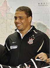 A photograph of former footballer Ronaldo