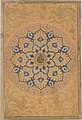 Rosette Bearing the Name and Title of Emperor Aurangzeb (Recto), from the Shah Jahan Album MET DT4814.jpg