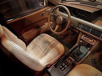 Rover SD1 - LHD Rover SD1 interior