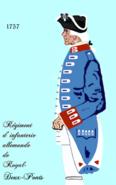 Roy Deux-Ponts inf 1757