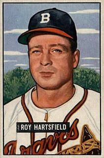 Roy Hartsfield American baseball player and manager