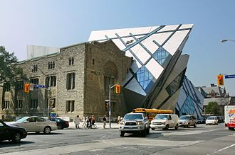 Downtown Toronto - The Royal Ontario Museum is a museum of art, world culture and natural history, located in the Yorkville neighbourhood.
