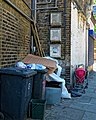 Rubbish and fly-tipping Tottenham High Road Haringey London England 2.jpg