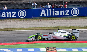 Allianz - Allianz has been a key sponsor of Formula One since 2000.