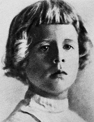 Rudy Vallée - Rudy Vallée aged five