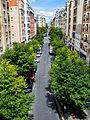 Rue Abel from the Promenade plantée, Paris 3 August 2014.jpg