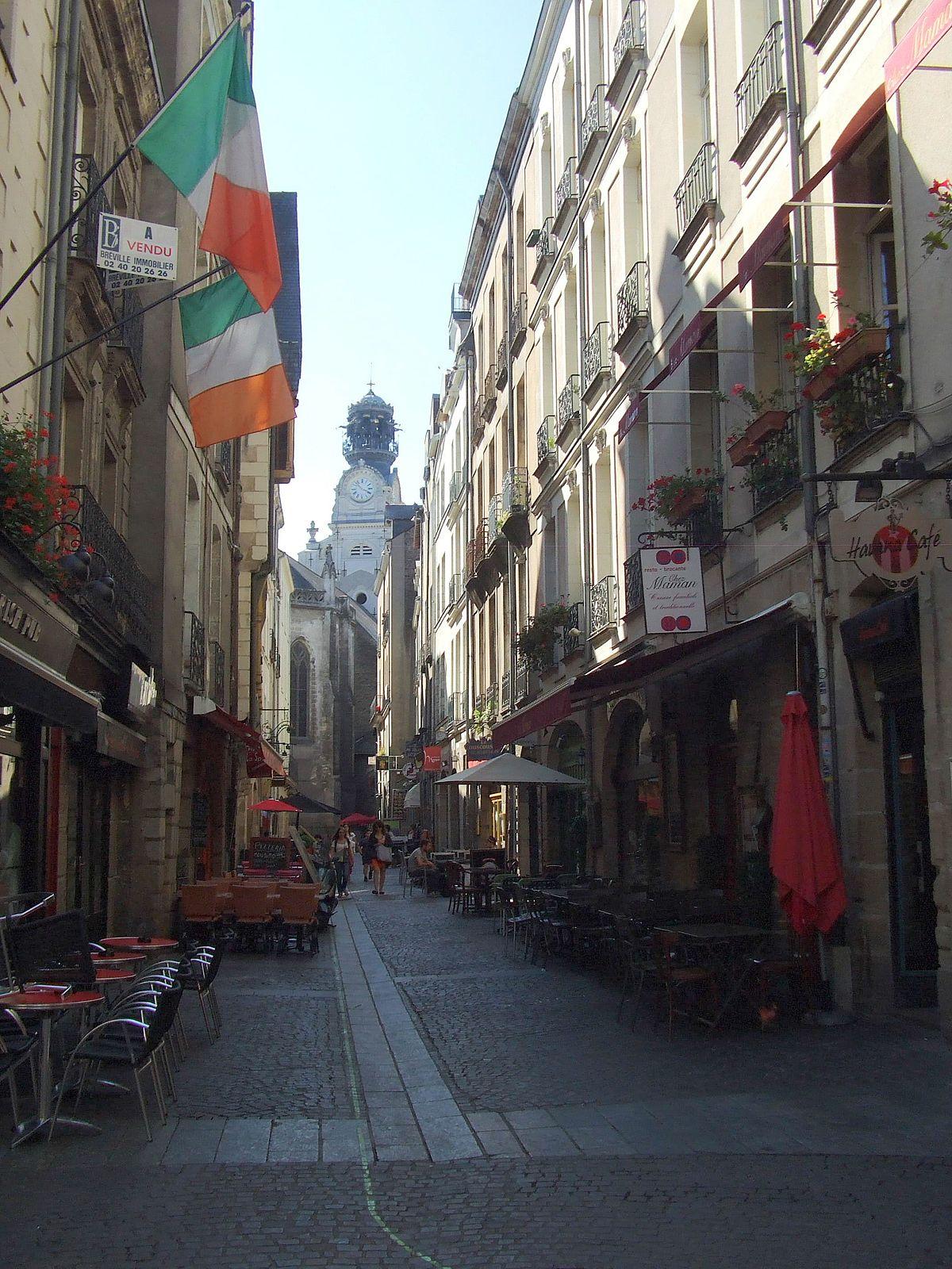 Centre Ville Nantes  Mai