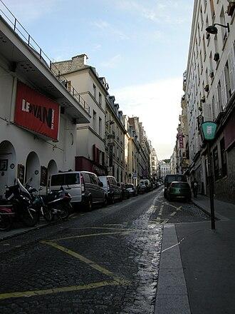 Le Divan du Monde - Front of Le Divan du Monde, rue des Martyrs