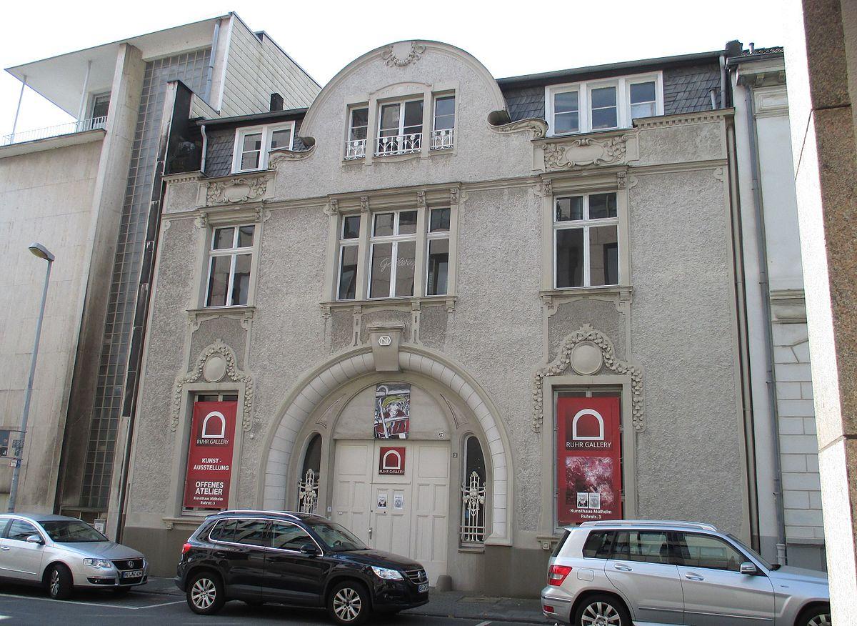 Aufnahme der Mülheimer Ruhrgalerie im September 2016 - Wikipedia Foto: Dat Doris - Galerie.Ruhr - KunstQuartier.Ruhr