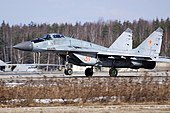 Russia - Air Force Mikoyan-Gurevich MiG-29 (9-13) 31 red (3103700391).jpg
