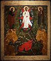 Russia del nord, icona della trasfigurazione sul monte tabor, 1700 ca.jpg