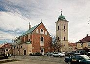 Rzeszów, kościół farny p.w. śś. Stanisława i Wojciecha, 1434, 1623, 1754 danz 004