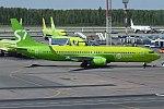 S7 Airlines, VP-BLE, Boeing 737-8Q8 (41227431455).jpg