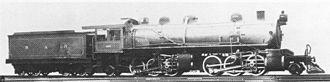 South African Class MG 2-6-6-2 - SAR no. 1628, ex CSAR no. 1024, c. 1912